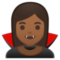 Vampire: Medium-Dark Skin Tone on Google Android 8.1