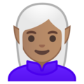 Woman Elf: Medium Skin Tone on Google Android 8.1