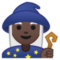 Woman Mage: Dark Skin Tone on Google Android 8.1