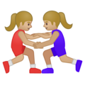 Women Wrestling, Type-3 on Google Android 8.1
