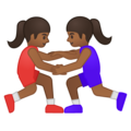 Women Wrestling, Type-5 on Google Android 8.1