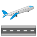 Airplane Departure on Google Android 9.0