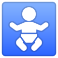 Baby Symbol on Google Android 9.0