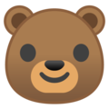 Bear Face on Google Android 9.0