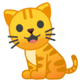Cat on Google Android 9.0