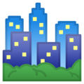 Cityscape on Google Android 9.0