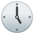 Five O'clock on Google Android 9.0