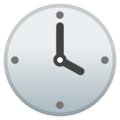 Four O'clock on Google Android 9.0