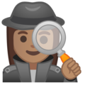 Woman Detective: Medium Skin Tone on Google Android 9.0