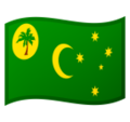 Cocos (Keeling) Islands on Google Android 9.0