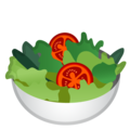 Green Salad on Google Android 9.0