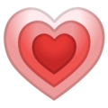 Growing Heart on Google Android 9.0