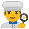 Man Cook on Google Android 9.0