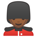 Man Guard: Medium-Dark Skin Tone on Google Android 9.0