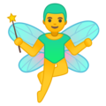 Man Fairy on Google Android 9.0