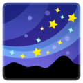 Milky Way on Google Android 9.0