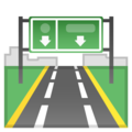 Motorway on Google Android 9.0