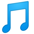 Musical Note on Google Android 9.0