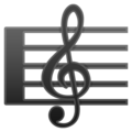 Musical Score on Google Android 9.0