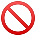 Prohibited on Google Android 9.0