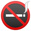 No Smoking on Google Android 9.0
