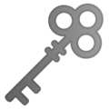 Old Key on Google Android 9.0