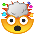 Exploding Head on Google Android 9.0