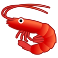 Shrimp on Google Android 9.0