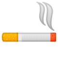 Cigarette on Google Android 9.0