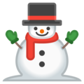 Snowman Without Snow on Google Android 9.0