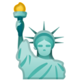 Statue of Liberty on Google Android 9.0