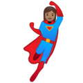 Woman Superhero: Medium Skin Tone on Google Android 9.0