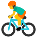 Person Biking on Google Android 7.1
