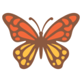 Butterfly on Google Android 7.1