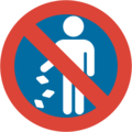 No Littering on Google Android 7.1