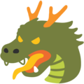 Dragon Face on Google Android 7.1