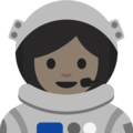Woman Astronaut: Light Skin Tone on Google Android 7.1