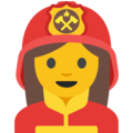 Woman Firefighter on Google Android 7.1