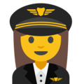 Woman Pilot on Google Android 7.1