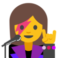Woman Singer on Google Android 7.1