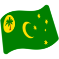Cocos (Keeling) Islands on Google Android 7.1