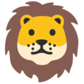 Lion Face on Google Android 7.1