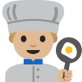 Man Cook: Light Skin Tone on Google Android 7.1