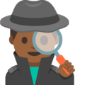 Man Detective: Medium-Dark Skin Tone on Google Android 7.1