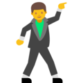 Man Dancing on Google Android 7.1