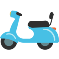 Motor Scooter on Google Android 7.1