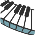 Musical Keyboard on Google Android 7.1