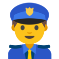 Police Officer on Google Android 7.1