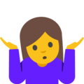 Image result for shrug emoji