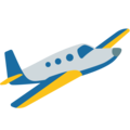 Small Airplane on Google Android 7.1